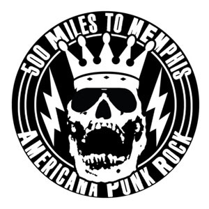 500 miles to memphis Logo